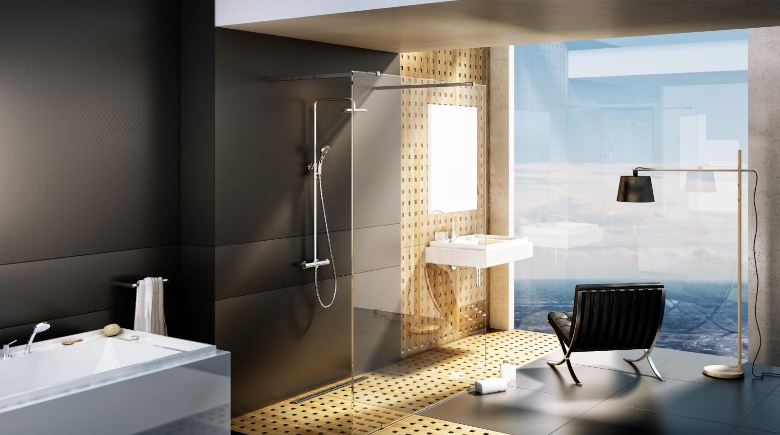 A zuhanyoszlopokat termosztátos csapteleppel is felszerelheted.